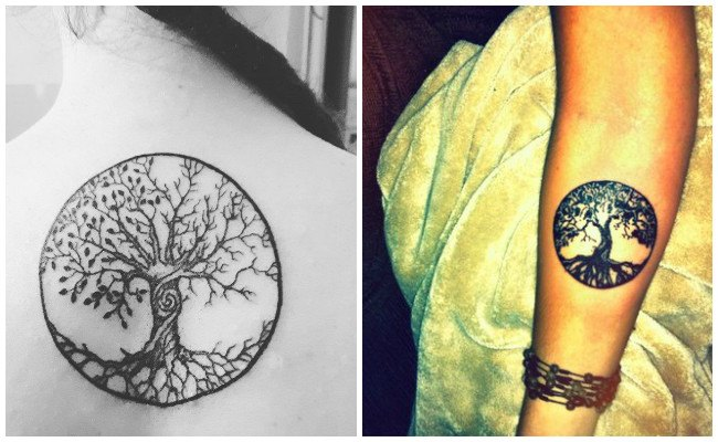 Tatuaje árbol de la vida y significado