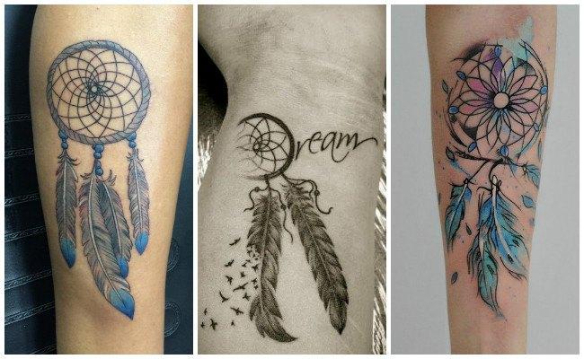 Tatuajes de atrapasueños con frases