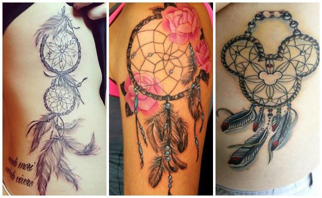 Tatuajes de atrapasueños con nombre