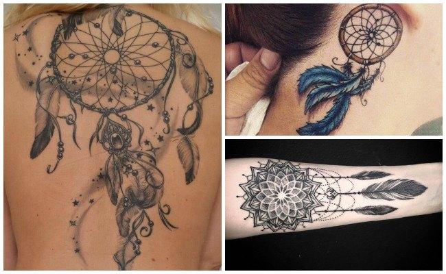 Tatuajes de atrapasueños para hombre