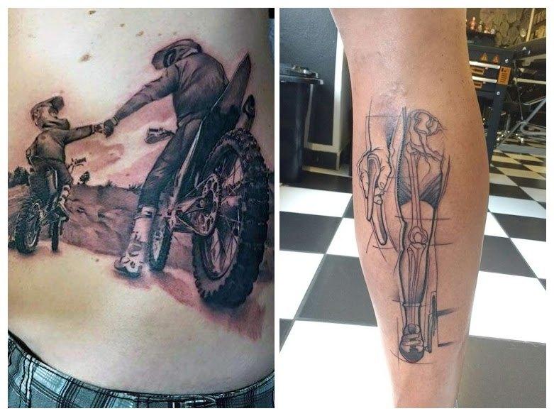 Diseños de tatuajes de bicicletas