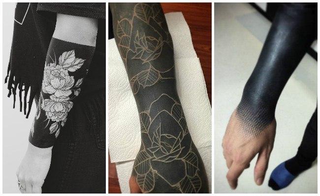 Tatuaje de brazalete negro y significado