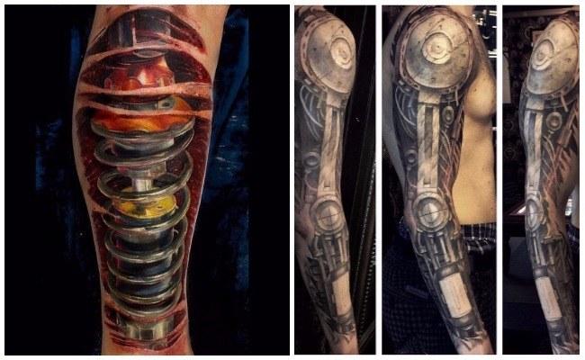 Tatuaje de amortiguador