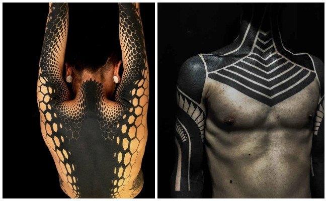 Tatuaje demasiado negro