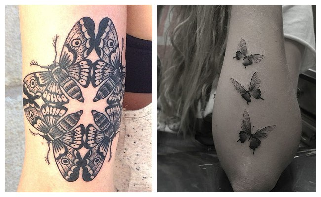 Tatuajes De Mariposas ¿sabes Sus Significados? Mira Todas
