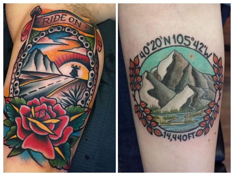 Significado de los tatuajes de montañas