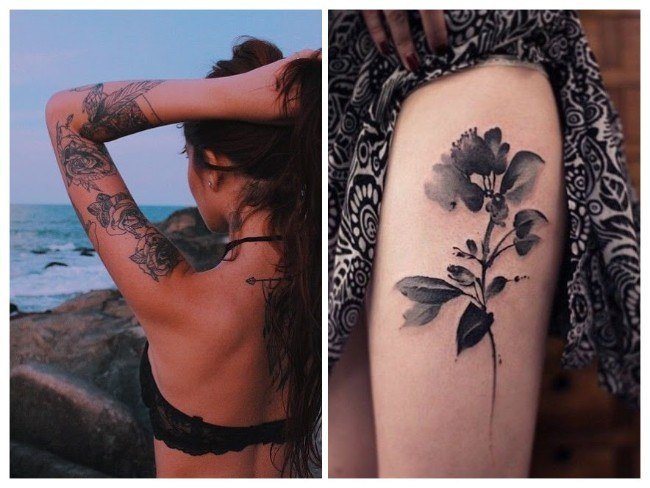 tatuaje para mujer grandes
