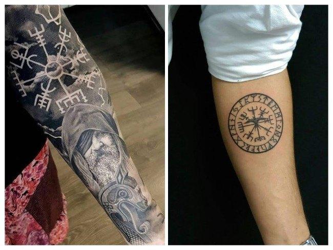 tatuaje significado profundo vegvisir