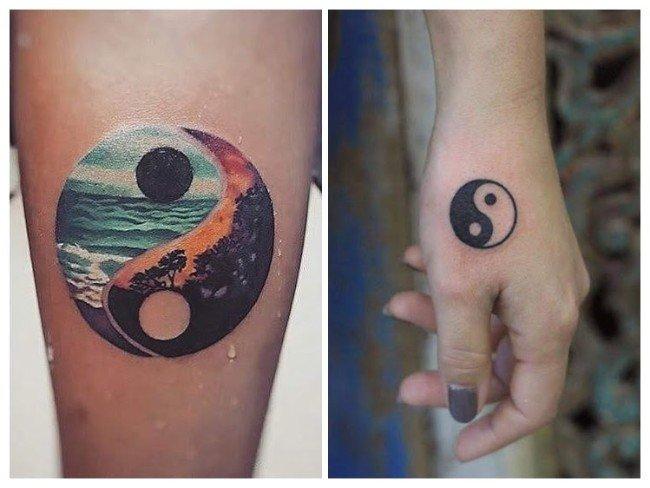 tatuaje simbolo ying yang significado
