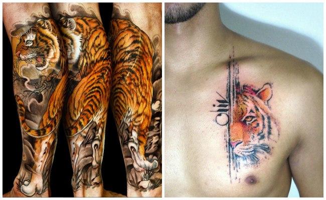 Tatuajes de tigres fotos