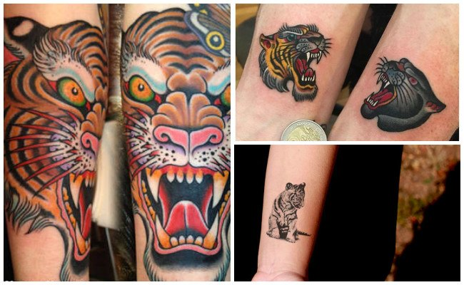 Tatuaje de un tigre