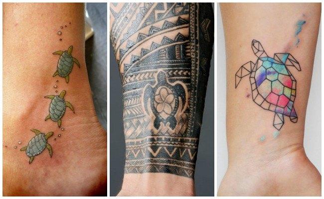 Tatuaje tortuga japonés