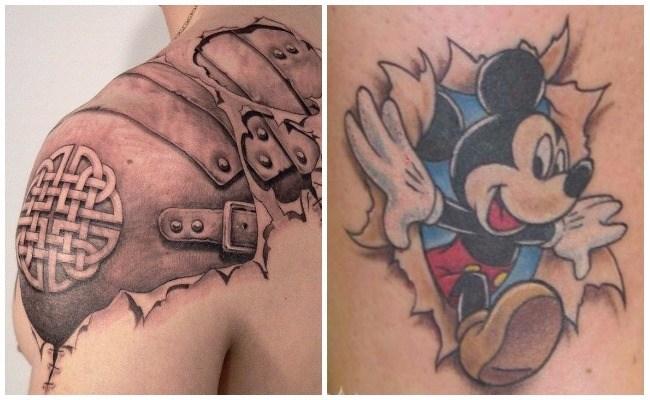 Tatuajes 3d en la muñeca