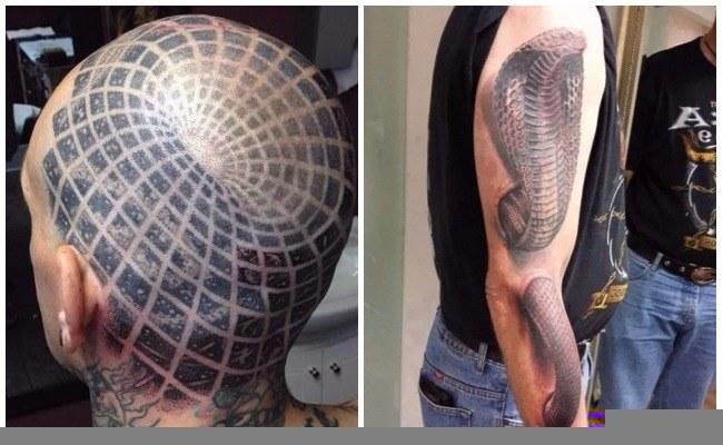 Tatuajes 3d realistas