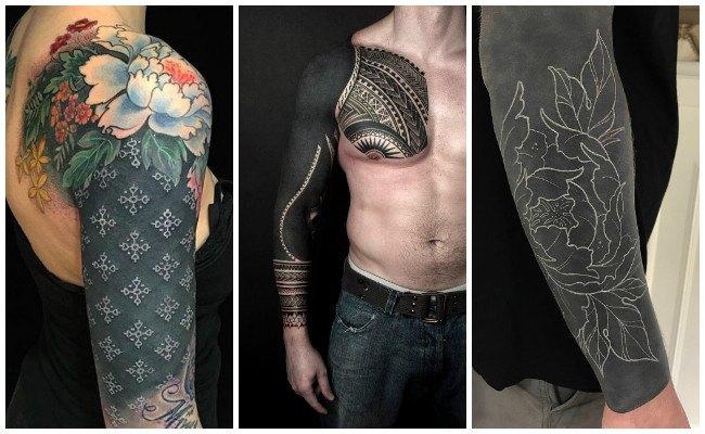 Tatuajes en el antebrazo negro