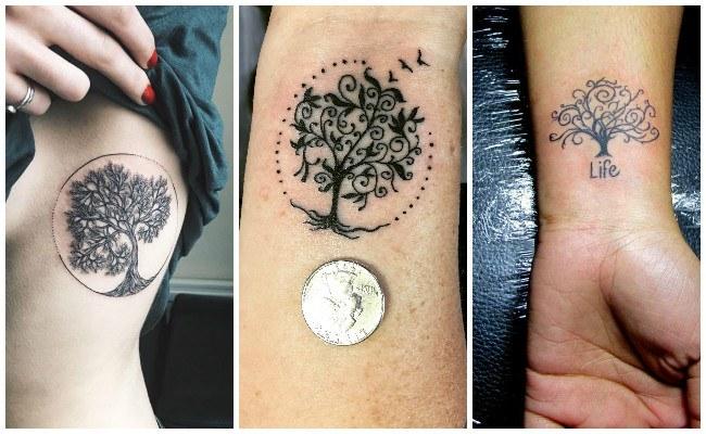Tatuajes árbol de la vida en 3d