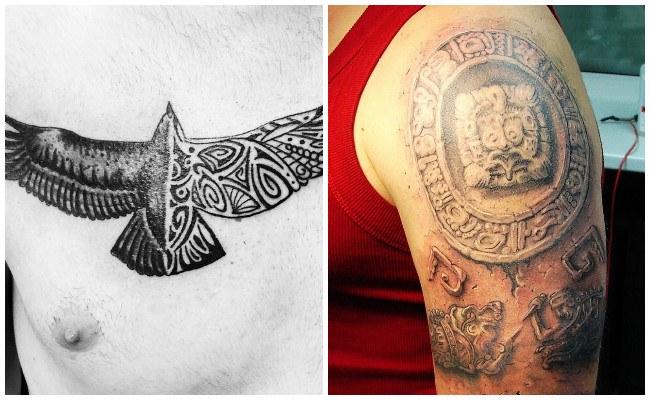 Tatuajes de aztecas para mujeres