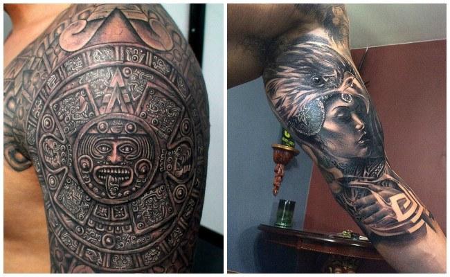 Tatuajes de aztecas y su significado