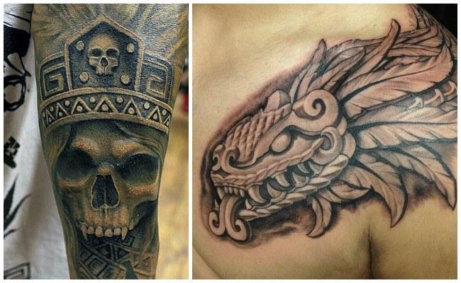 Tatuajes de aztecas y mayas significado