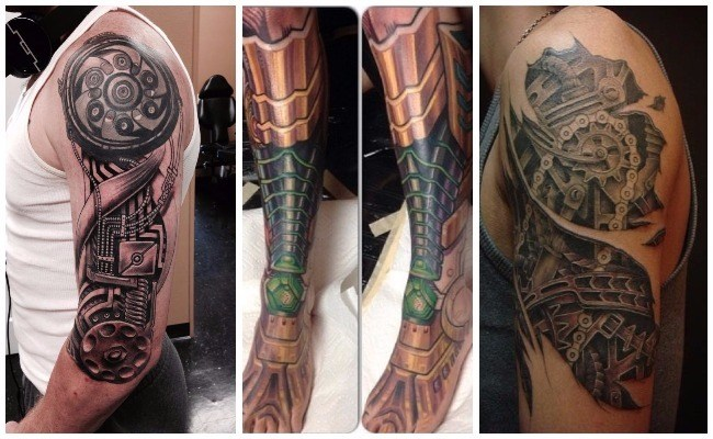 Tatuajes biomecánicos