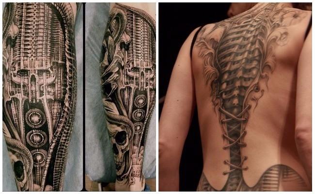 Tatuajes biónicos