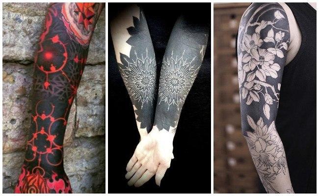 Tatuajes blackout y significado