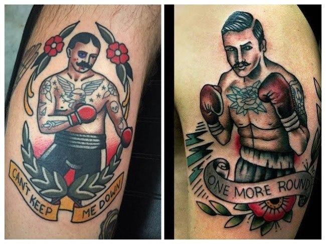 Tatuajes de boxeo