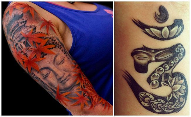 Tatuajes de buda mujer