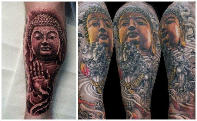 Tatuajes budistas y fotos