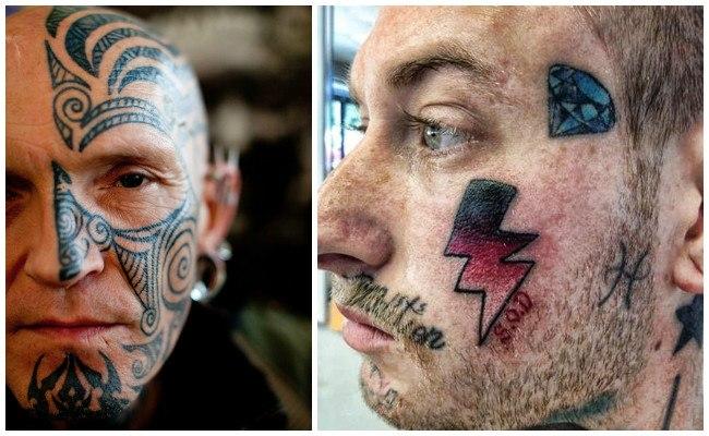 Tatuajes En La Cara Locura O Arte Extremo Significados E Ideas