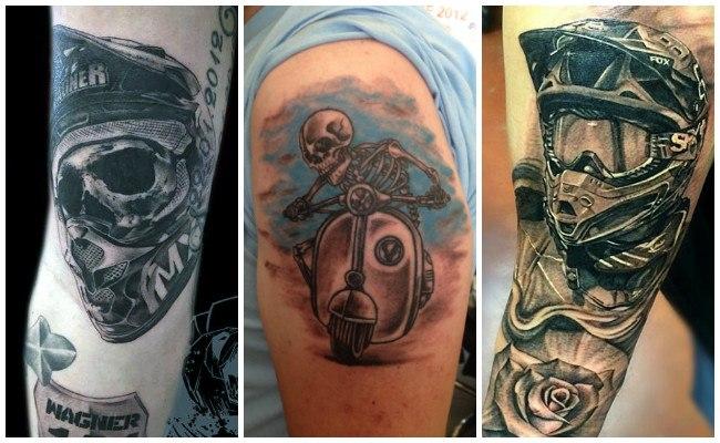 Tatuajes de carburadores de motos