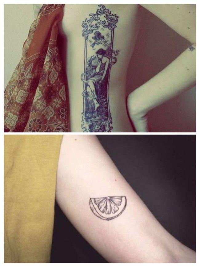 tatuajes chicas sexys