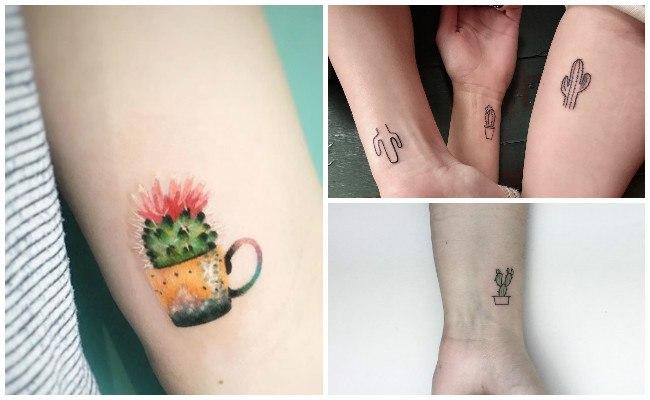 Tatuajes con cactus