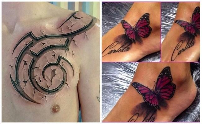 Tatuajes con relieve