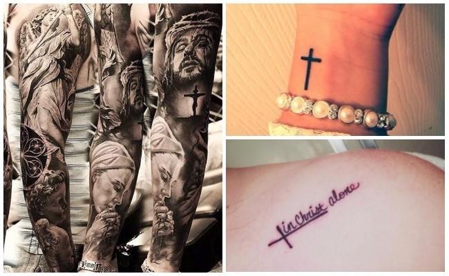 Tatuajes cristianos para hombre