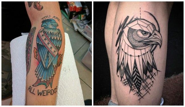 Tatuajes de águilas de méxico