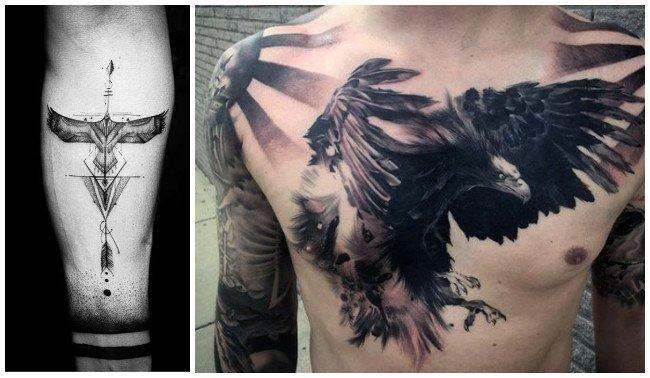 Tatuajes de águilas imperiales