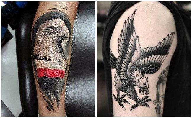 Tatuajes de águilas para mujeres