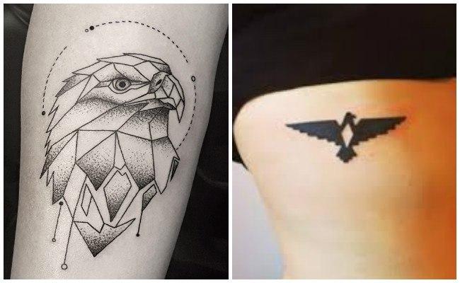 Tatuajes de águilas pequeñas