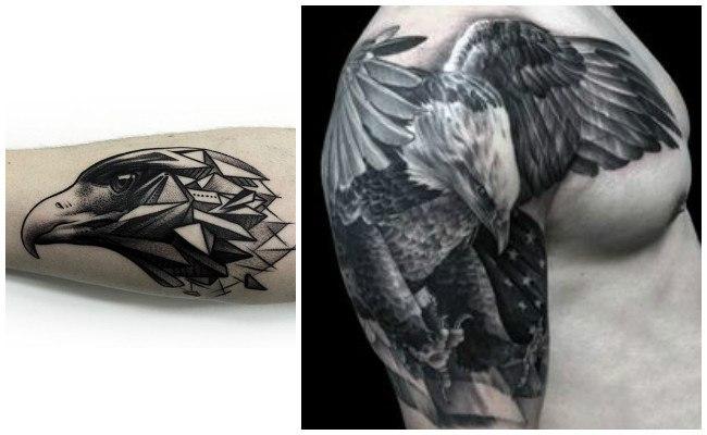 Tatuajes de águilas reales