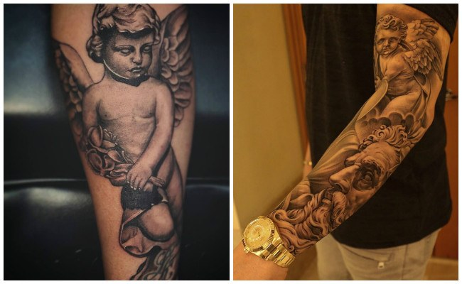 Tatuajes de ángeles caidos