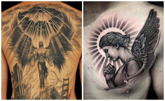 Tatuajes de ángeles chiquitos
