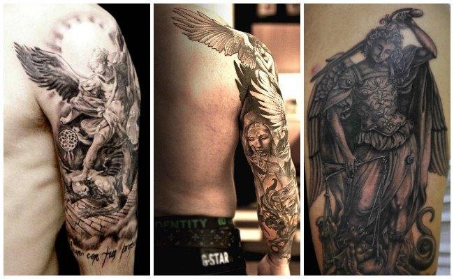 Tatuajes de ángeles juntos