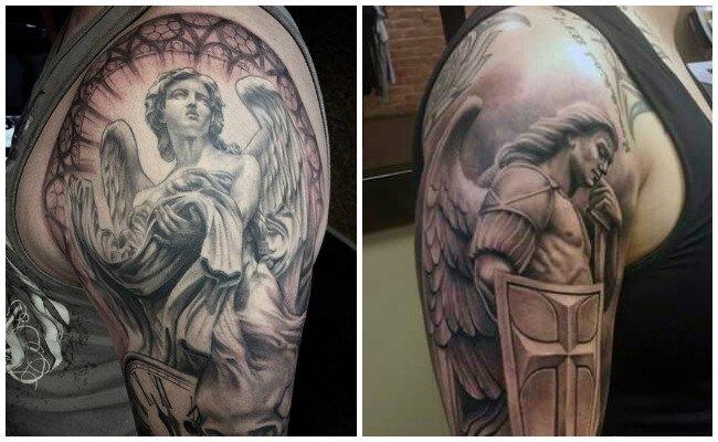 Tatuajes de ángeles y sus significados