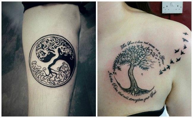 Tatuajes de árbol de la vida para hombres