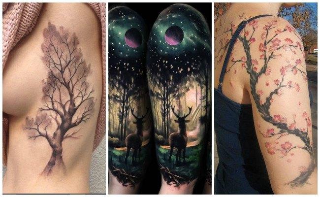 Tatuajes de árboles y su significado
