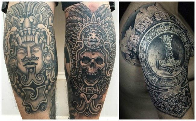 Tatuajes de aztecas mexicanos