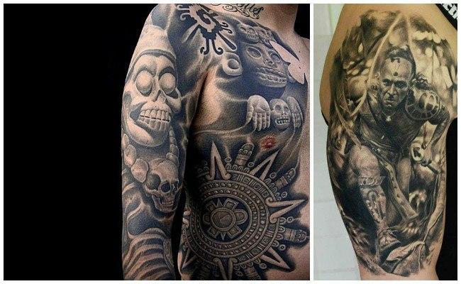 Tatuajes de aztecas pequeños