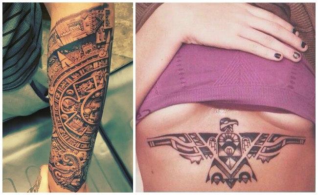 Tatuajes de aztecas tribales