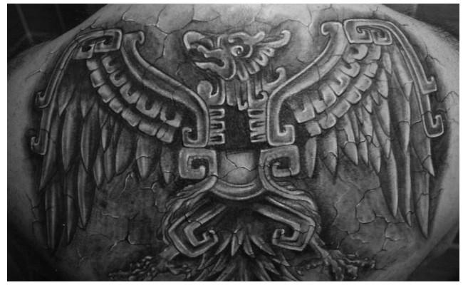 Tatuajes de aztecas